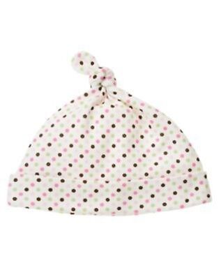 GYMBOREE BRAND NEW BABY PINK w// FLOWER /& BIRD BEANIE HAT Preemies 0 3 6 12 NWT