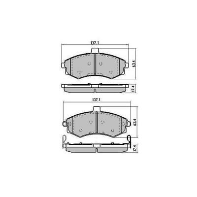 Could also be DB1266 Front Budget Brake Pads DB1312 CHECK shape BEFORE buying