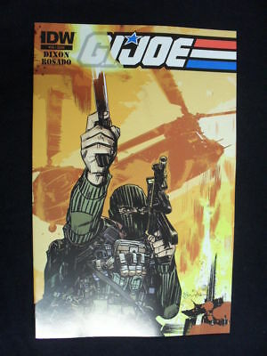 G.i Joe Volume 2 #16 Dixon/rosado (Idw Comics)