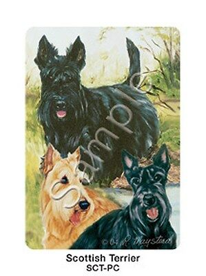Deck Pack Dog Scottish Terrier Playing Cards NIP Scottie Ruth Maystead