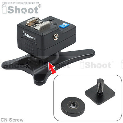 """Cold Foot to 1/4"""" Screw Adapter for Camera Flash Holder Stand Hot Shoe Mount"""