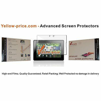 High-end Clear Screen Protector Guard w/ Cleaning Cloth for Blackberry Playbook