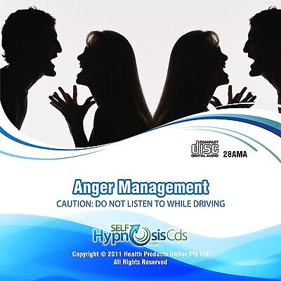 Anger Management Self Hypnosis Hypnotherapy CD - Relaxation without Counselling