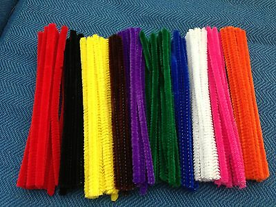 Chenille Stems 6mm x 15cm 100pk (Pipecleaners)