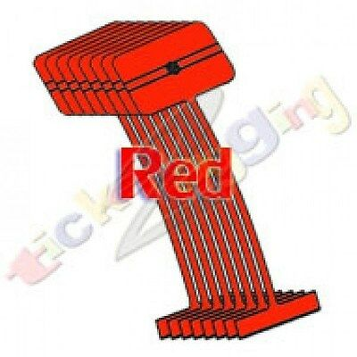 "500 2"" Red Regular Standard Barbs Tag Tagging Gun Fasteners High Quality"