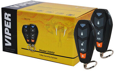 NEW VIPER 350 Plus Car Alarm With Keyless Entry 1-Way/Viper ... on
