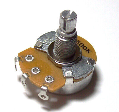 Alpha Guitar potentiometer 250K / 500K linear or logarithmic pot (full size)