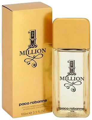 1 Million Paco Rabanne For Men 3.4 oz After Shave Lotion New In Box SEALED