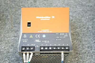 Weidmuller Connectpower 8708680000,cp Snt 250W 24V 10A Power Supply