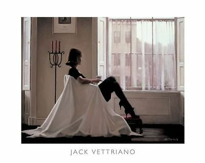 """Jack Vettriano """"In Thoughts Of You"""" High Quality Print"""