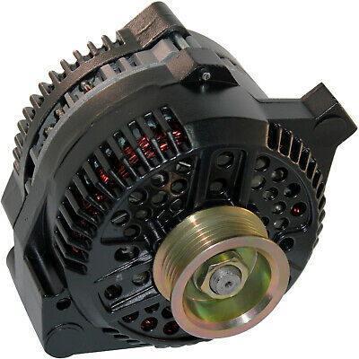 Alternator Fits Ford MUSTANG one wire black 1-Wire High Output 250Amp 1965-1996