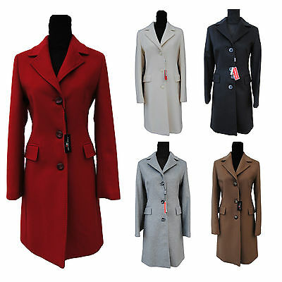 "Cappotto DONNA ""Coats&Coats"" MOD. London Cachemire ASSORTITO Varie Taglie"