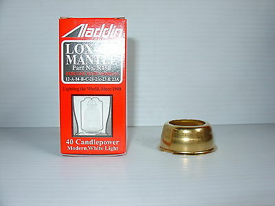 Aladdin Kerosene Mantle Lamp Kone Kap Mantle Adapter N146A  & Lox On Mantle Comb