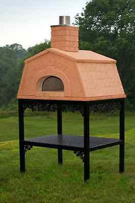 Old World Outdoor Wood Fired Pizza Hearth Oven