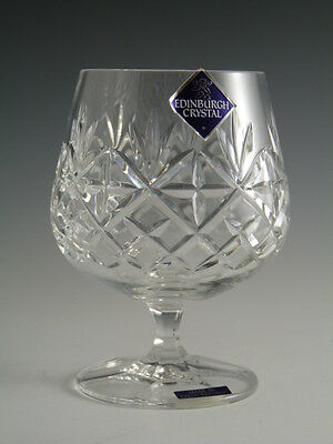 EDINBURGH Crystal - BERKELEY Cut - Brandy Glass / Glasses - 4 3/8""