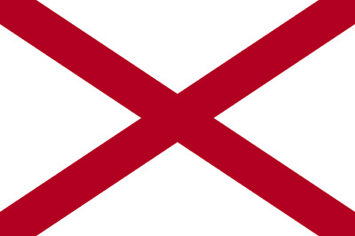 Alabama State Large Flag 5' x 3'