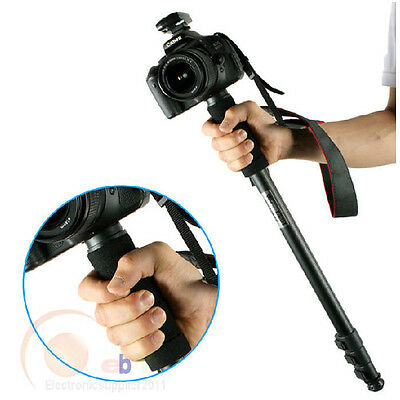 "Sturdy 67"" Digital Camera SLR Monopod Tripod Walking Stick For Nikon Canon Sony."