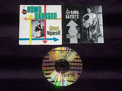 Bomb Bassetts Dress Rehearsal (EP) CD Single Lookout Records #111