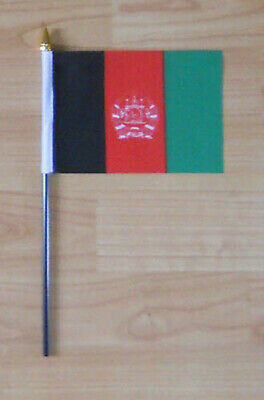 Afghanistan Country Hand Flag - small