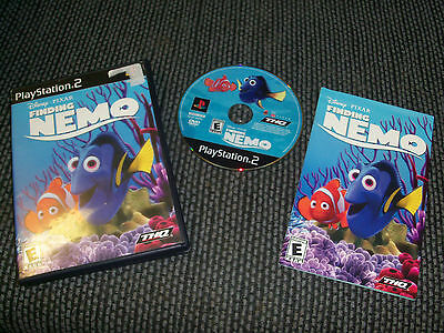 Finding Nemo  (Sony PlayStation 2, 2003)COMPLETE