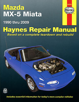 haynes workshop repair owners manual mazda mx 5 miata 90 09 rh picclick co uk 1990 miata service manual 1990 miata service manual pdf