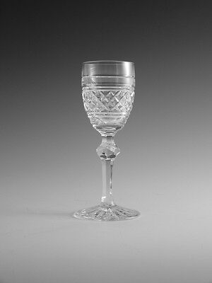 WATERFORD Crystal - CASTLETOWN Cut - Liqueur Glass / Glasses - 4 1/2""