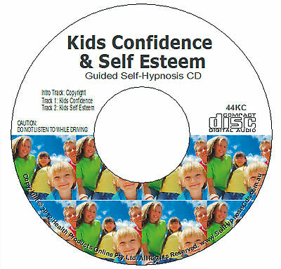 Kids Confidence / Self Esteem Hypnosis Audio Cd - Guided Hypnotherapy For Child