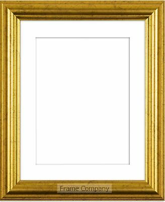 Frame Company Eldridge Range Gold or Silver Picture Photo Frames with Mount