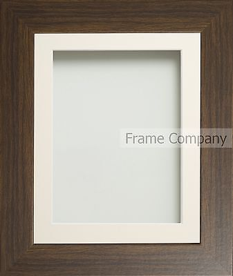 Frame Company Watson Range Brown or Pine Picture Photo Poster Frames with Mount