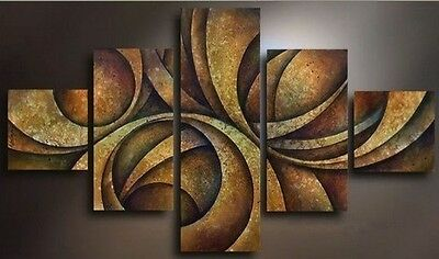 Modern Abstract Huge Wall Art Oil Painting On Canvas Pure hand-drawn NO FRAME