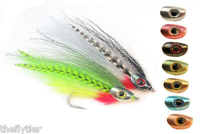 FISH SKULL   MEDIUM  Weighted Heads- Streamer Flies 7 colors available Fly Tying