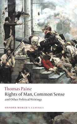 Rights of Man, Common Sense, and Other Political W - Paine, Thomas New Item