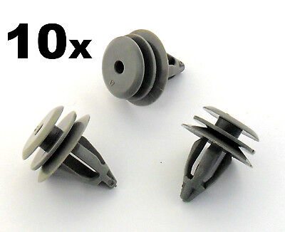 10x BMW Plastic Trim Clips for Interior Door Cards, Trim Panels, Covers & Fascia