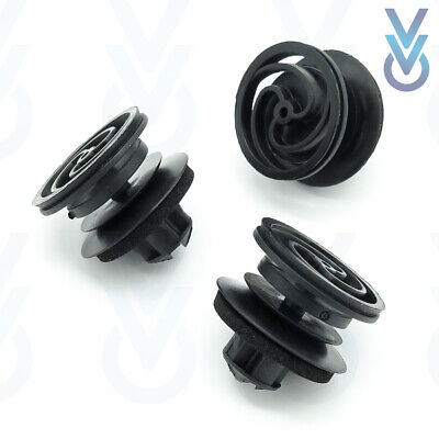 10x VW Volkswagen Interior Door Card and Trim Panel Mounting Clip / Fastener