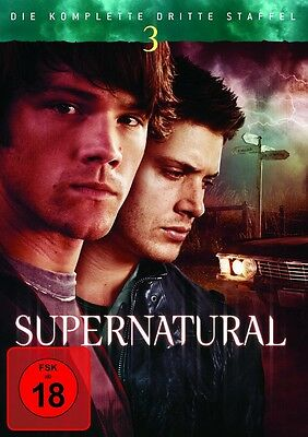 Supernatural Season/Staffel 3 * NEU OVP * 5 DVD Box