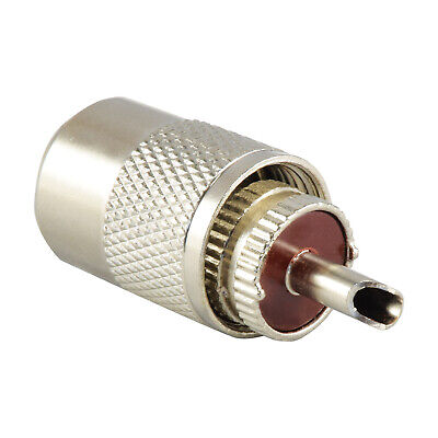 Pl259 Connector Plug For 5.2Mm Cable - Rg58