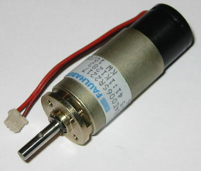 Faulhaber Motor and Gearhead - 6 V - 236 RPM - 1524E006S + 15/5 Gear