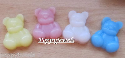 10 Teddy Soaps  Baby Powder Baby Shower/christening/favours