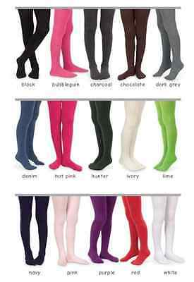 COUNTRY KIDS and Jefferies Winter Weight Organic Tights Ages 1-15 Years