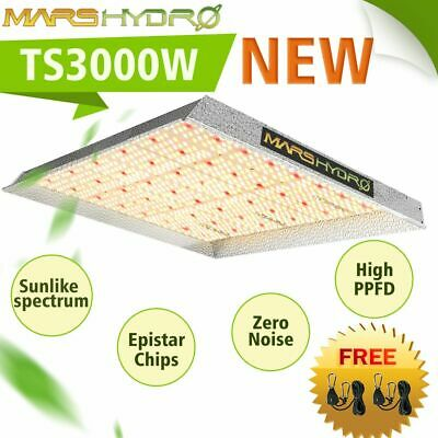 Mars Hydro Reflector 240W LED Grow Light Lamp For Indoor Medical Plant Veg Bloom
