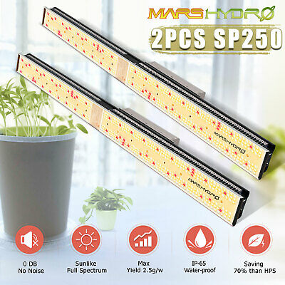 Mars Hydro Reflector 192 LED Grow Light IR Full Spectrum IR Indoor Plant Garden