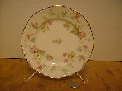 """Hutschenreuther Selb Bavaria PASCO The Maple Leaf Bread & Butter 6 1/4"""" RB-4b"""