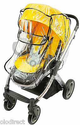 Raincover Fits Bugaboo Cameleon iCandy Apple Peach Strawberry Silver Cross Surf