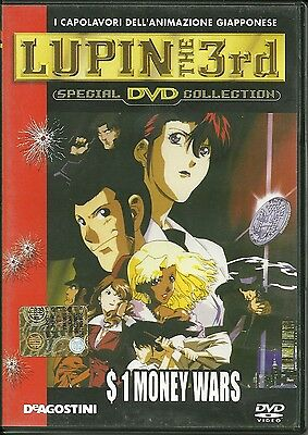 DVD Lupin the 3 rd. $1 Money Wars