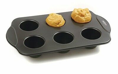 NORPRO 3974 Nonstick Popover Muffin Pastry Roll Biscuit Pan 6 Cup