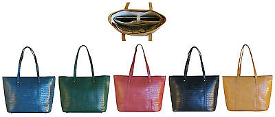 Leather Handbag / Laptop Bag by Karisa Renee