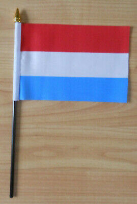Luxembourg Country Hand Flag - small