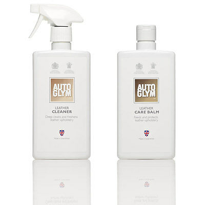 Autoglym Leather Cleaner & Leather Care Balm - Free Postage
