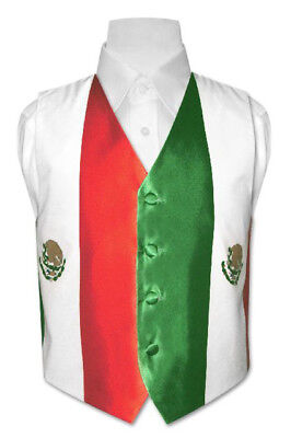 Boy's Mexican Flag Dress Vest size 12