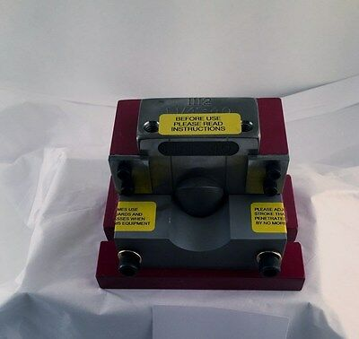 """1""""  sch 40  Pipe Notcher / Coper for most Ironworkers & Punch Presses"""